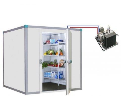 Restez cool: les chambres froides ne sont pas des réfrigérateurs – mais ils sont équipés de systèmes de réfrigération. Savez-vous quelle volume avez-vous besoin?